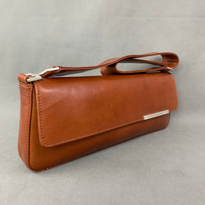 CLAUDIO FERRICI Brown Leather SHOULDER BAG / HANDBAG