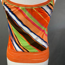 Load image into Gallery viewer, MISSONI SPORT Colourful Sleeveless TOP Size IT 46 - UK 14 - Made in Italy