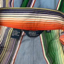 "Load image into Gallery viewer, POLO by Ralph Lauren Mens Colourful Stripey SHORTS - Size 34"" Waist"