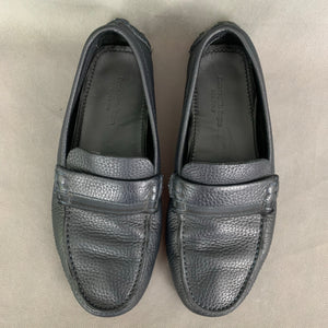 ERMENEGILDO ZEGNA Mens Blue Leather LOAFERS / DRIVING SHOES Size 8 EEE