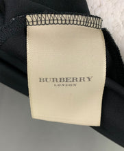 Load image into Gallery viewer, BURBERRY LONDON Ladies Black WRAP TOP Size UK 12 - IT 44 - US 10