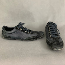 Load image into Gallery viewer, HUGO BOSS Mens Black Brogue Trainers / Casual Shoes - Size EU 41 - UK 7