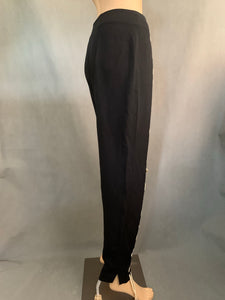 MOSCHINO CHEAPandCHIC Ladies Black TROUSERS - Size IT 42 - UK 10