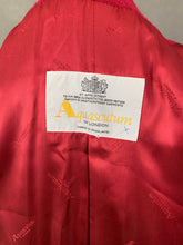 Load image into Gallery viewer, AQUASCUTUM Ladies Red Virgin Wool COAT / OVERCOAT - Size UK 8
