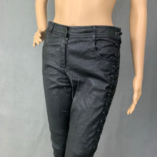 Load image into Gallery viewer, A.L.C. Ladies Black Leather TROUSERS - Size US 6 - UK 10 - Small -