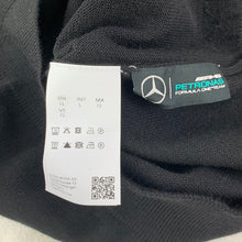 Load image into Gallery viewer, HUGO BOSS with MERCEDES F1 Mens OMOTO Black JUMPER Size L Large