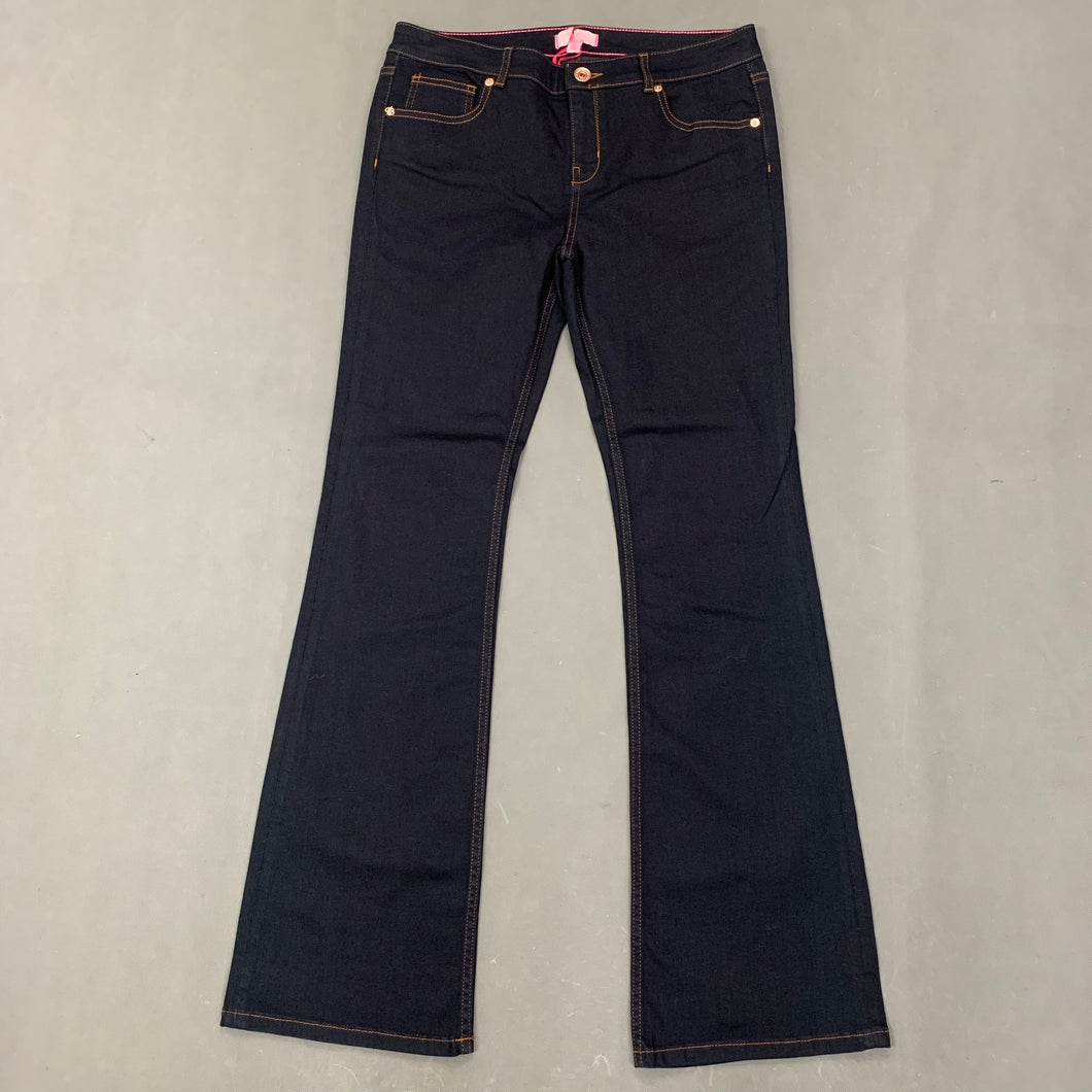 New TED BAKER Ladies Blue Denim KLEEO JEANS Size Waist 32