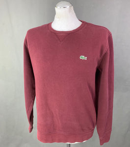 LACOSTE SPORT Mens Crew Neck SWEATER / JUMPER Size 5 - Large L