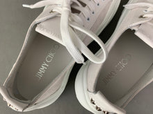 Load image into Gallery viewer, New JIMMY CHOO Ladies White TRAINERS / SHOES Size EU 37 - UK 4 - BNWoT