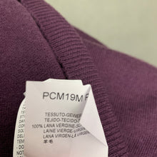 Load image into Gallery viewer, ARMANI COLLEZIONI Mens Purple 100% Virgin Wool JUMPER - Size Medium M