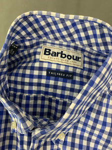 BARBOUR Mens Tailored Fit BRUCE SHIRT Size M Medium