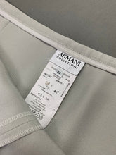 Load image into Gallery viewer, ARMANI COLLEZIONI Ladies Grey Silk Blend TROUSERS Size IT 44 - UK 12