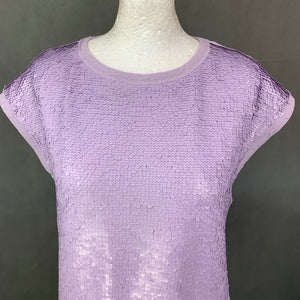 New TED BAKER Ladies SEQEEN SEQUINNED TOP Ted Size 1 - UK 8 - XS BNWT