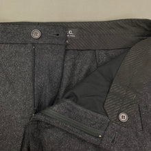 "Load image into Gallery viewer, A.P.C. Mens Dark Grey Wool TROUSERS Size XL - Waist 36"" - Leg 32"""