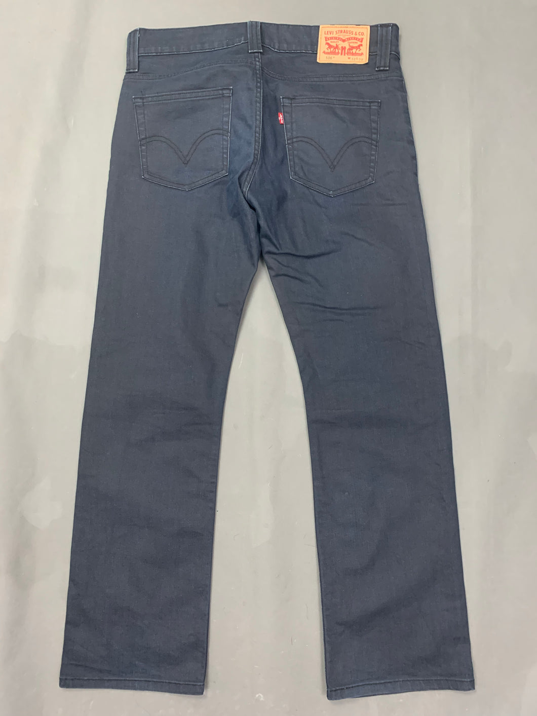 LEVI STRAUSS &Co LEVI'S Blue Denim 506 JEANS Size Waist 32