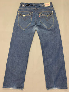 "LEVI STRAUSS &Co Mens Blue Denim LEVI'S 503 JEANS Size Waist 34"" Leg 31"" LEVIS"