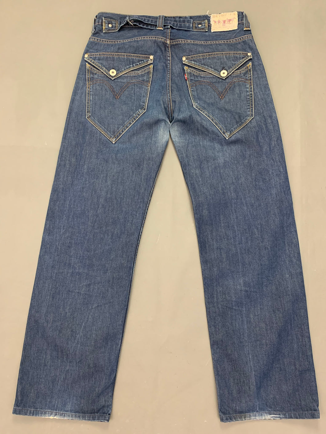 LEVI STRAUSS &Co Mens Blue Denim LEVI'S 503 JEANS Size Waist 34