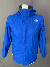 Load image into Gallery viewer, THE NORTH FACE Boys Blue HYVENT COAT / JACKET Size Age 14-16 / Large L