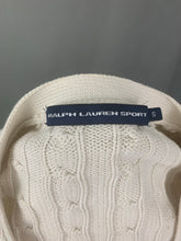 Load image into Gallery viewer, RALPH LAUREN Ladies Cable Knit CARDIGAN Size S Small