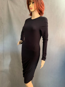 T ALEXANDER WANG Ladies Black Asymmetric DRESS - Size S Small