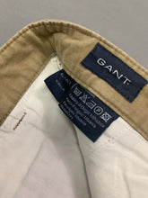 "Load image into Gallery viewer, GANT Mens BRUSHED NEWPORT Tapered Leg TROUSERS Size Waist 36"" - Leg 33"""