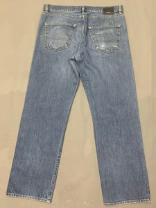 "HUGO BOSS Mens ARKANSAS1 Blue Denim JEANS Size Waist 36"" - Leg 31"""