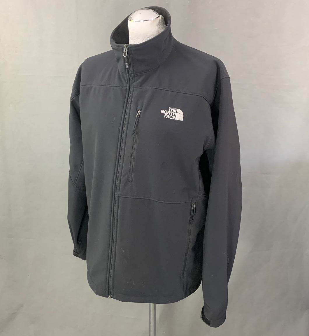 THE NORTH FACE Mens Black Soft Shell JACKET / COAT - Size Extra Large - XL