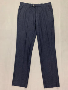 "New TED BAKER Mens Dark Blue Tapered Leg TROUSERS Waist 32"" Leg 32"" BNWOT"