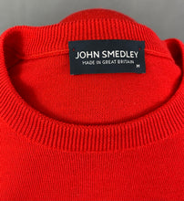 Load image into Gallery viewer, JOHN SMEDLEY Mens 100% Extrafine MERINO WOOL JUMPER Size Medium M
