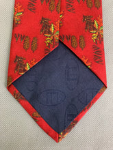 Load image into Gallery viewer, DUNHILL Mens 100% SILK Forest Themed TIE - Made in Italy