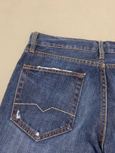 "Load image into Gallery viewer, HUGO BOSS Mens HB31 Blue Denim Straight Leg JEANS Size Waist 34"" - Leg 32"""