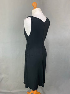 PRADA Ladies Black DRESS - Size IT 44 - UK 12 MADE IN ITALY