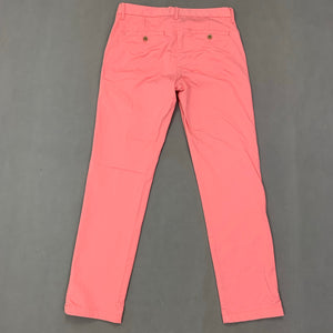 GANT Ladies Pink Regular Fit Cropped Trousers Size UK 12 - US 8