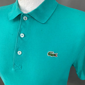 LACOSTE SPORT Mens Green POLO SHIRT LACOSTE Size 3 - Small S