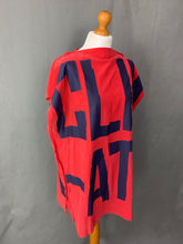 Load image into Gallery viewer, VIVIENNE WESTWOOD Unisex CLIMATE REVOLUTION Red TOP - O/S - One Size