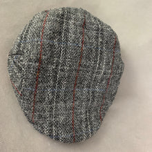 Load image into Gallery viewer, HARRIS TWEED Mens Hammond & Co Flat Cap - Hat Size L / XL