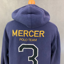 Load image into Gallery viewer, POLO RALPH LAUREN Ladies Blue HOODIE / HOODED TOP Size SMALL S