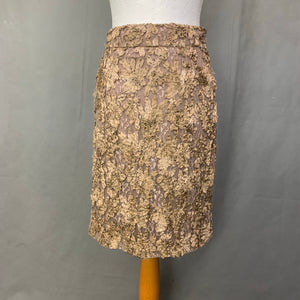 BURBERRY Highly Detailed Luxurious SKIRT Size IT 40 - UK 8