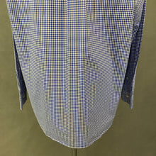 Load image into Gallery viewer, RALPH LAUREN Mens Blue Check Pattern SHIRT Size L - Large
