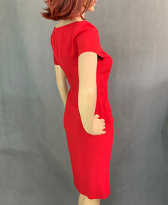 MOSCHINO CHEAPandCHIC Red DRESS - Size IT 38 - UK 6