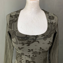 Load image into Gallery viewer, VIVIENNE WESTWOOD with WOLFORD Ladies BODYSUIT / BODY TOP - Size Small S