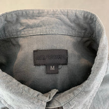 Load image into Gallery viewer, ALLSAINTS Mens Grey JOHNSTONS SHIRT - Size Medium M