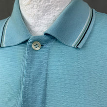Load image into Gallery viewer, DUNHILL London Mens Blue POLO SHIRT - Size S - Small
