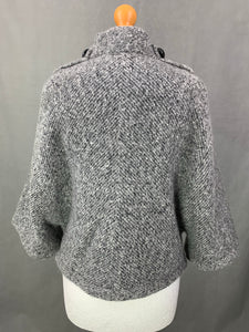 D.EXTERIOR Ladies MOHAIR & WOOL Blend JACKET / COAT Size M MEDIUM