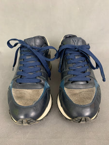 LOUIS VUITTON Mens Blue Trainers / Casual Shoes - Size EU 40 - UK 6