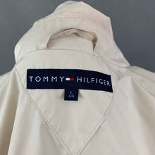 Load image into Gallery viewer, TOMMY HILFIGER Mens Beige TRENCH COAT / MAC JACKET - Size Large L