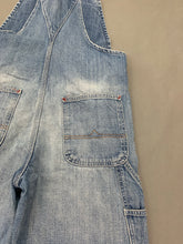 Load image into Gallery viewer, RALPH LAUREN Ladies Blue Denim DUNGAREES - Size XS - Extra Small