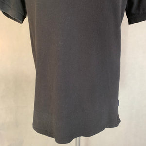 PAUL SMITH JEANS Mens Black POLO SHIRT - Size Medium M