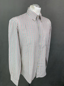 BARBOUR Mens Regular Fit Check Pattern SHIRT - Size M Medium
