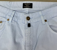 "Load image into Gallery viewer, GANT Mens JASON Soft Blue JEANS Size Waist 30"" - Leg 32"""